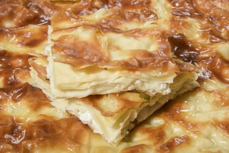 cheesy pastry Stock Photo
