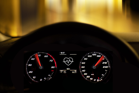 car speed, speedometer, auto