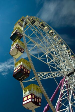 Big Wheel located on the Birrarung Marr, Melbourne - Australia Stock Photo - 1290531