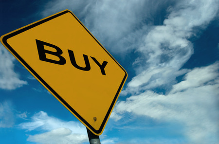 buying stock: Its a Buyers Market, and what better way to show it than this illustration
