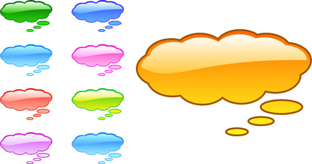 gradiant: A Collection of Vector Based Speech Bubbles