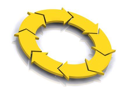 カラフルな 3 d レンダリングの概念図