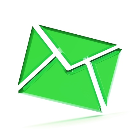 A Colourful 3d Rendered Email Concept Illustration Stock Illustration - 8994720