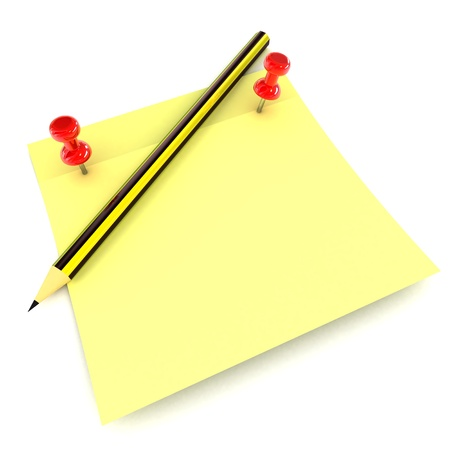 A Colourful 3d Rendered Notepad Concept Illustration Stock Illustration - 17123567