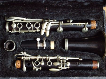 clarinet in the box