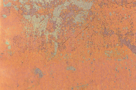 metal grunge: Close up rusty metal plate for use background. Stock Photo