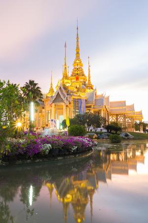 タイ寺院、タイ風タイ ・ ナコンラチャシマ教会 写真素材