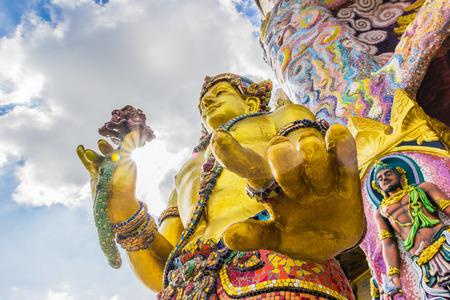 ratchasima: Wat Ban Rai , Nakhon Ratchasima province, Thailand.