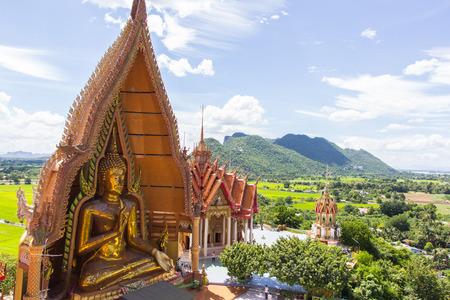 sua: Thai temple Wat thum sua in Kanjanaburi, Thailand.