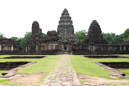ratchasima: Prasat Hin Phimai Historical Park In Nakhon Ratchasima province, Thailand. Stock Photo