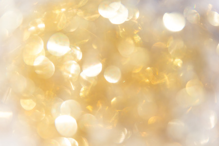 abstract background gold bokeh circles for use background.