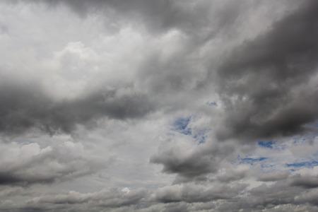 梅雨の雨雲。 写真素材