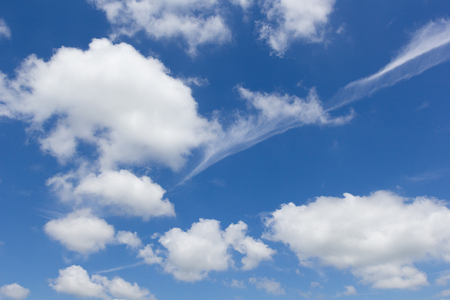 青空と雲。