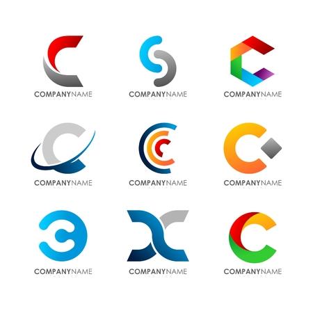 C ロゴ デザイン
