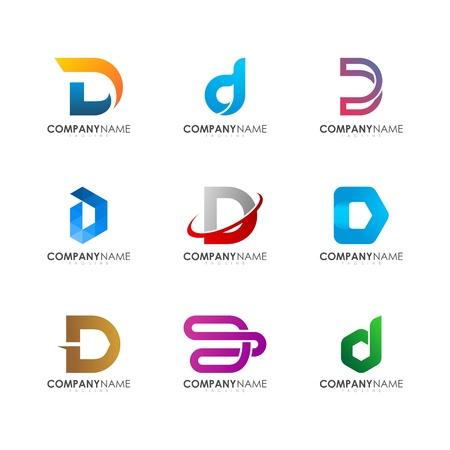 D logo design