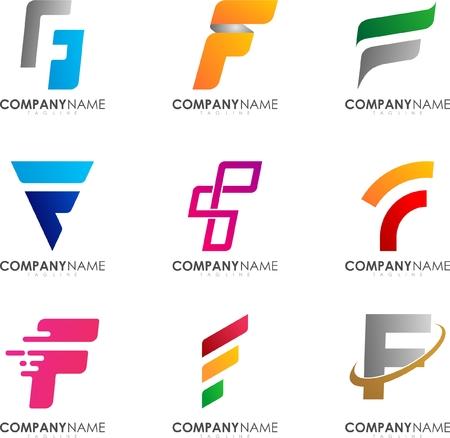F logo design