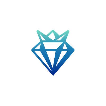Luxury Diamond Kingdom Princess Crown Geometric Modern