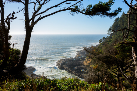 View of the Oregon Coast Line