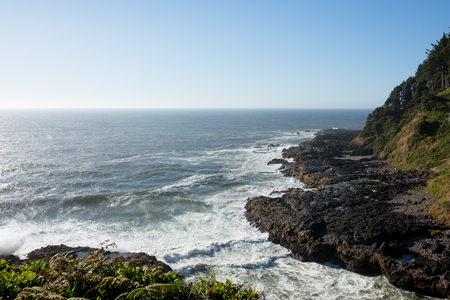 View of the Oregon Coast Line