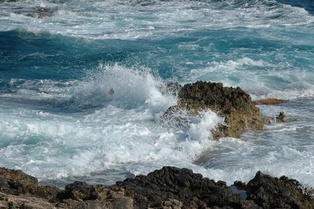 Wave splash Reklamní fotografie