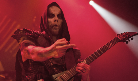 death metal: Heavy metal band Behemoth live in Brisbane 1st October 2015 Editorial
