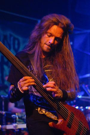 Heavy metal band Beyond Creation live in Brisbane November 2014 新聞圖片