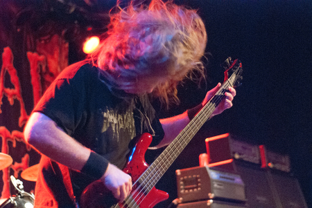 corpse: Heavy metal band Cannibal Corpse live in Brisbane October 2014