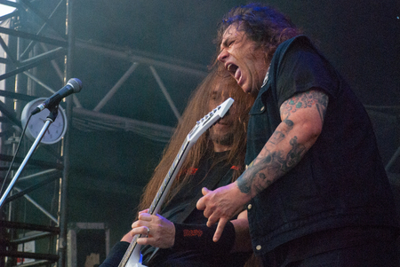 steve: Heavy metal band Exodus live at Soundwave Festival in Brisbane 2015