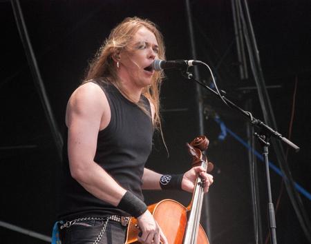soundwave: Apocalyptica live at Soundwave Festival in Brisbane 2015