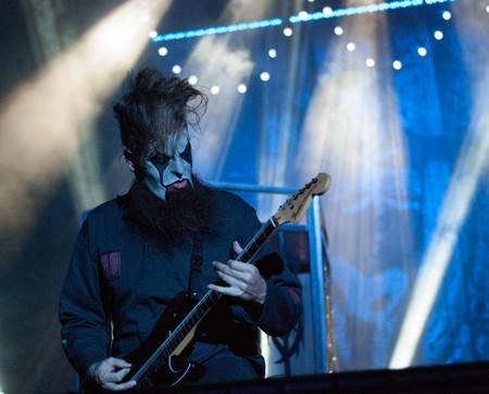 soundwave: Heavy metal band Slipknot live at Soundwave Festival in Brisbane 2015