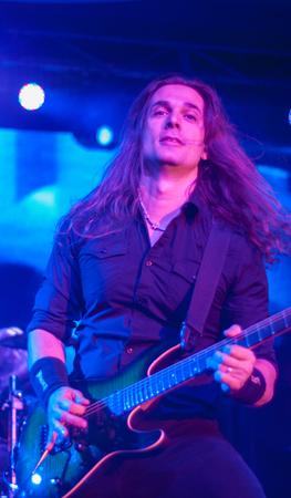 onstage: Megadeth live at Eatons Hill Hotel in Brisbane, 21 October 2015
