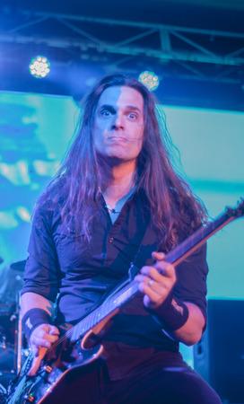 to thrash: Megadeth live at Eatons Hill Hotel in Brisbane, 21 October 2015