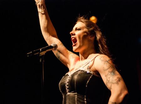 onstage: Nightwish live in Brisbane  2016 Editorial