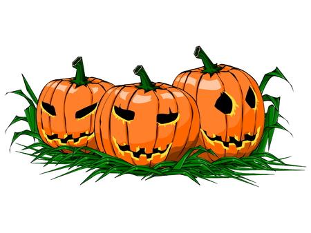 scarry: Pumpkin on Glass