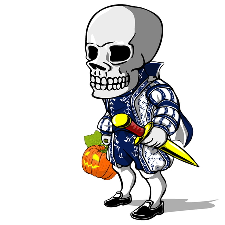 cartoom: Prince of Halloween with transparent Background