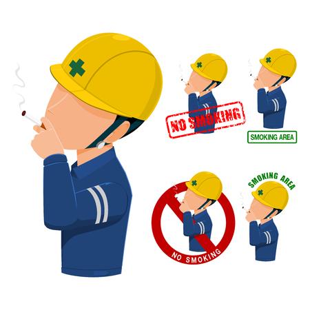 No smoking icon on transparent background