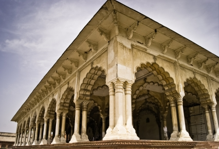 custom cabinet: Agra Fort Diwan I Am or hall of Public Audience, Agra, India