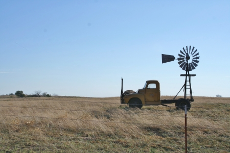 pickup windmill
