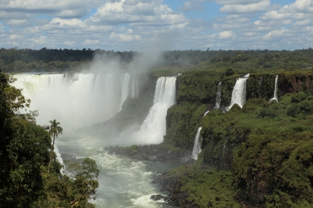 Iguazu Waterfall Brazil  Stock Photo - 17988382