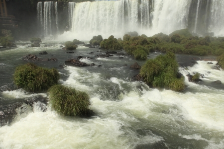 Iguazu Waterfall Brazil Stock Photo - 18028809