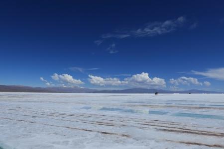 salar: Salar de Atacama Stock Photo
