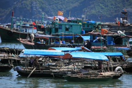Floating Market Vietnam photo