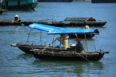 march� flottant: March� flottant Vietnam Banque d'images