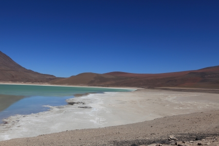 Laguna Verde Bolivia photo