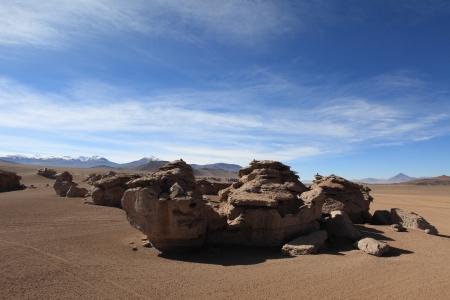 altiplano: Rock Formations Altiplano Bolivia
