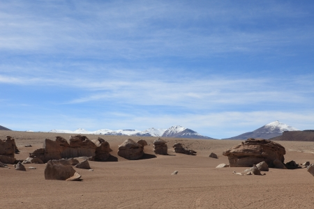 Rock Formations Altiplano Bolivia photo