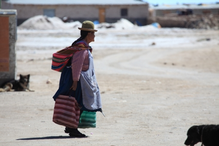 Poor Women in Bolivia
