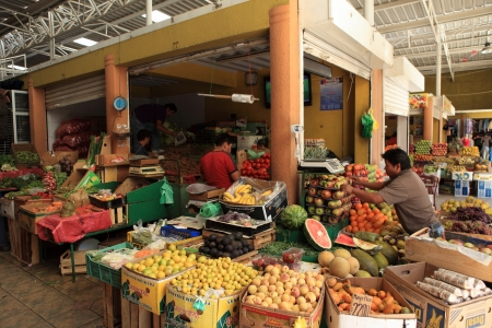 market hall: Market Hall in Calama