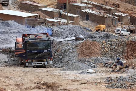 erz: Potosi Silvermine Bolivia