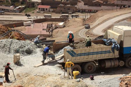 Potosi Silvermine Bolivia